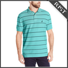T-shirt polo factory custom made beaded cotton mens polo t shirt