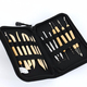 Pottery Polymer Clay Sculpting Tool Set In Zippered Case Pottery Tool