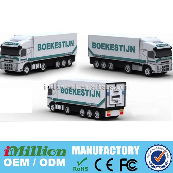 3D Truck Custom Mobile Power Bank
