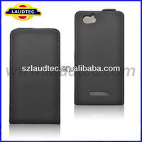 Laudtec Flip Leather case for Sony Xperia M