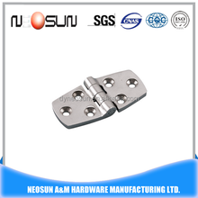 Stainless steel deck boat accessories hatch hinge