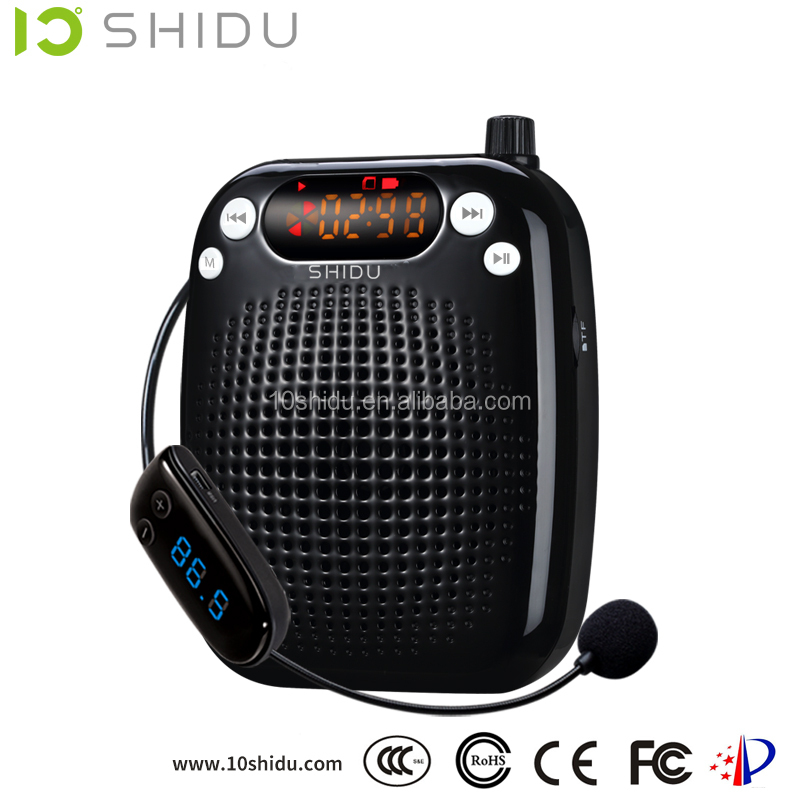 portable professional UHF wireless voice audio power amplifier