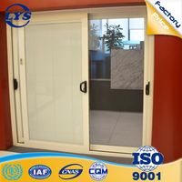 Factory direct 5mm+9A+5mm double glazed aluminum doors used prices