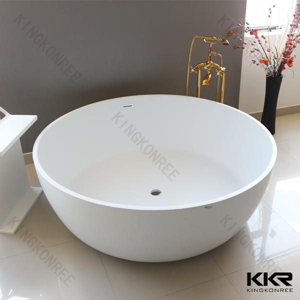 Cheap round bathtub round corner bathtub natural stone for Japanese whirlpool tub