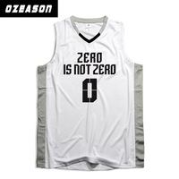 Top quality new style OEM Service Custom dri fit basketball jersey kit