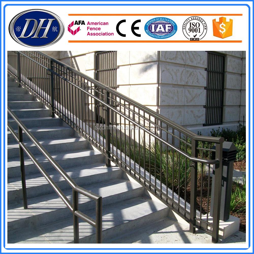 Design Grill Balcon Ext Rieur Balustrades En Fer Forg Maison Escalier En Acier Rampes Et Mains