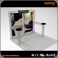 High Standard Customize Truss Booth Global Truss Roof System For Tradeshow