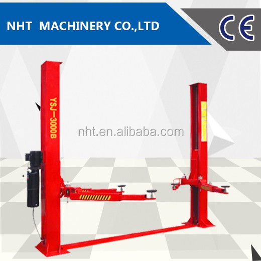 Direct Factory High Quality CE Two Cylinder Two Post Hydralic Car Lift Manufacturer