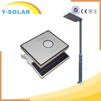 Y-SOLAR 12W Waterproof ip65 Outdoor Stand Alone Integrated Street Solar Led Light