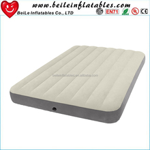 Fashionable high quality PVC inflatable flocked mattress