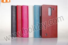 Crystal Grain Stand Full Body Mobile phone Case Flip Wallet Leather Case for LG Optimus G Pro 2 F350 D837 with Card Holder