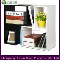 2015 Modern bookcase combination with MDF panels