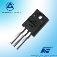 semiconductor components SRF4040CT SRF4060CT SRF40100CT SRF40150CT SRF40200CT Schottky Barrier Rectifier Diodes with ITO220AB