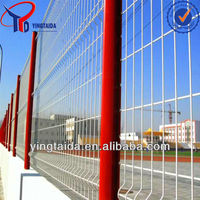 galvanized sheet metal fence panel