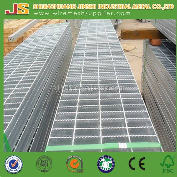 Galvanized welded heavy duty steel grating weight