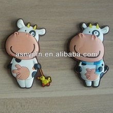 cut couple cow animal shaped refrige magnet