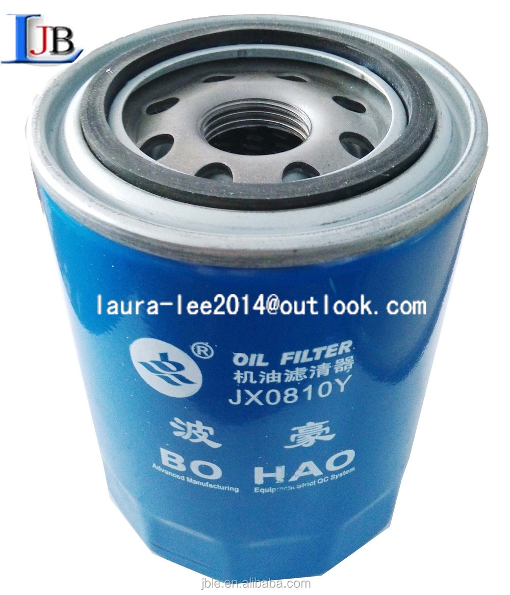 chaochai OIL FILTER JX0810 ACCESSORIES FOR DIESEL ENGINE ASSEMBLY AND SPARE PARTS