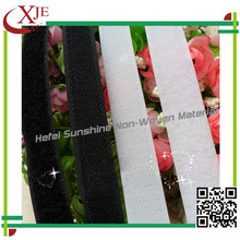 OEM nylon strong adhesive for factory sticky hook and loop tape