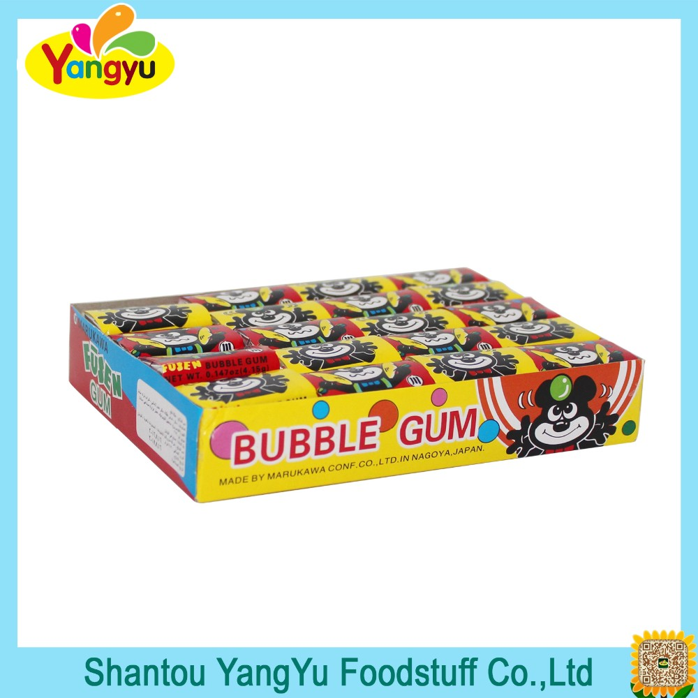 Hot-selling good quality bear bubble gum in Japan