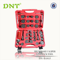 Universal 35pcs Caliper Brake Piston Tool Kit Disc Rewind Wind Back Pads tool