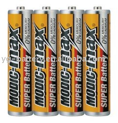 cheap battery metal jacket R03.AA .