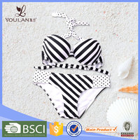 Cheap Price Pretty Pattern Sexy Lady Stripe swimwear manufacturer