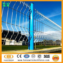 High quality PVC& galvanized welded wire mesh fence panels,Wire mesh garden fence