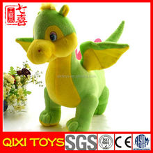 New style baby green custom dinosaur promotional plush toy