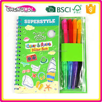 Home Easy Child Cartoon Color Filling Books