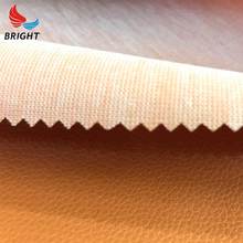 Factory industrial leather material knitted fabric finished