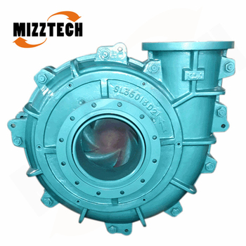 MIZZTECH Widely used in metallurgical horizontal centrifugal slurry pumps
