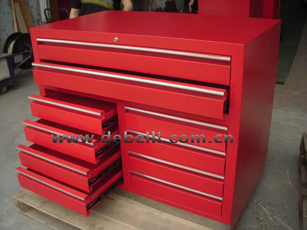 Metal Drawer Cabinet For Tool In Workshop View Metal