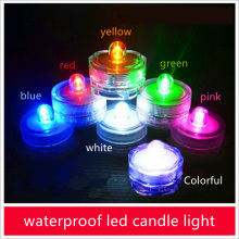 Twist Control CR2032 battery power decorative mini waterproof led candle light