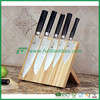 Strong magnetic knife block in bamboo