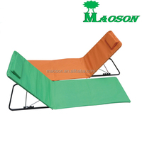 selling 2015 popular portable folding camping beach chair mat