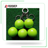 Wholesale funny sport golf ball keychain football creative gift bal