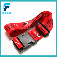 Fashionable aviation pp luggage belt with plastic buckle