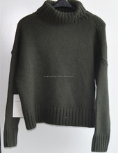 Turtleneck Knit Pullover Sweaters for Ladies