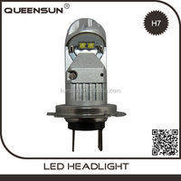 2016 new HIGH QUALITY canbus 20W H7 LED Bulbs + LED Decoders High Beam led headlight conversion kit