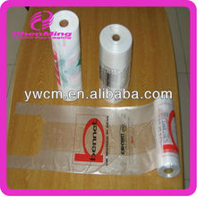 China Yiwu mass produced hdpe t-shirt plastic bags on roll