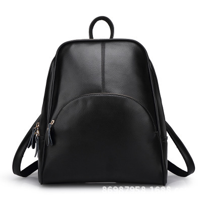 2016 New Leather Shoulder Bag Korean fashion leisure backpack bag wholesale female all-match