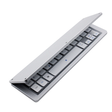 hot sell portable slim folding keyboard for iphone/ipad/smartphone/tablets