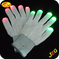Led gloves wholesale china party supplies and decoration led finger light gloves glow in the dark luminous gloves
