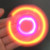 2017 Hot selling Bluetooth speaker spinner playing on fingertip top with LED light