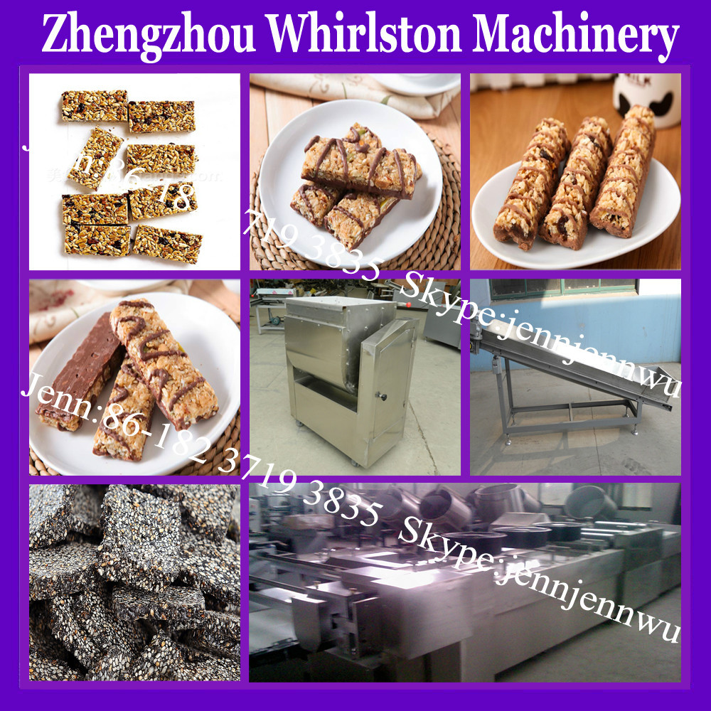 Peanut/cereal/nuts/sesame Candy Bar Maker/automatic Bar Cutting ...