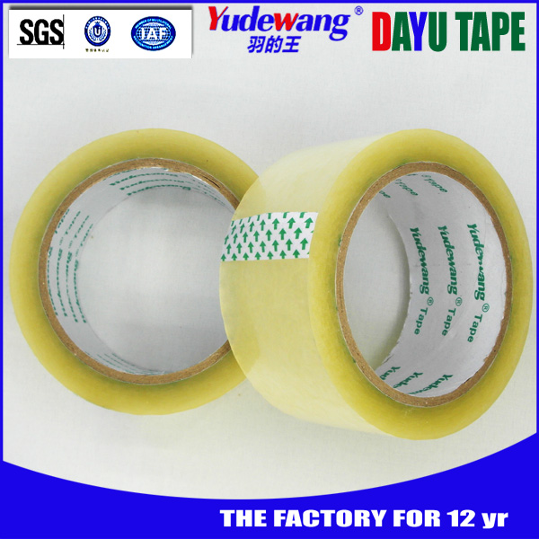 China supplier best quality vinyl sealing packaging tape