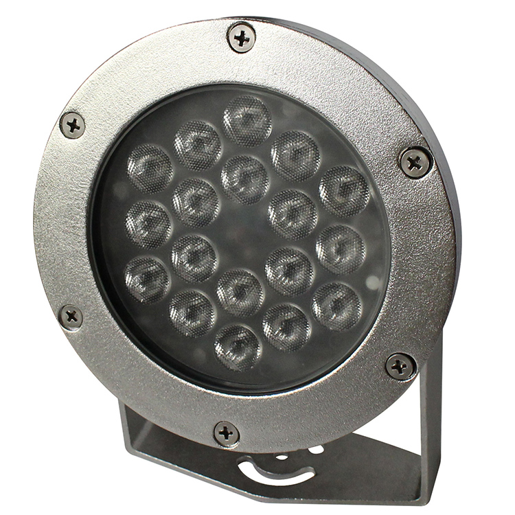 Multi color 54W DMX RGB led underwater pond lights