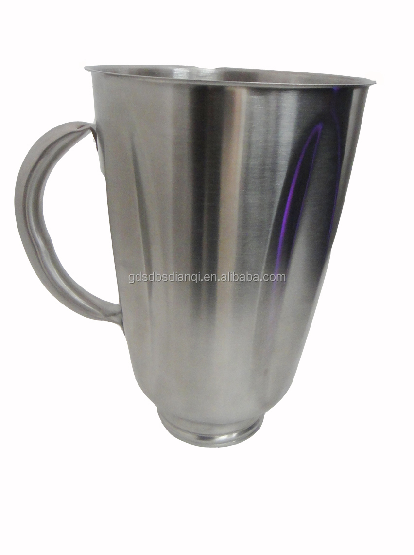 1.25L stainless steel blender metal jar