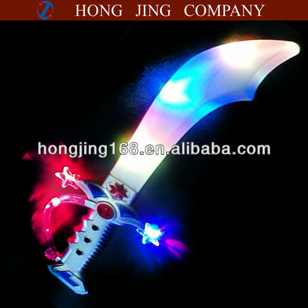 light up plastic toy knife