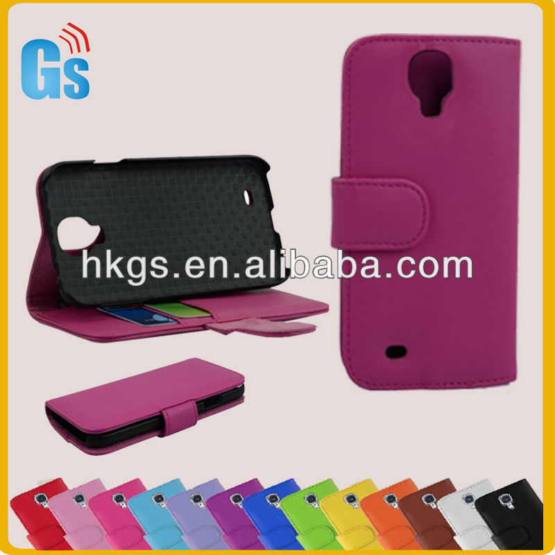 Latest Products In Market Leather Case Cover Stand For Samsung Galaxy S IV S4 i9500